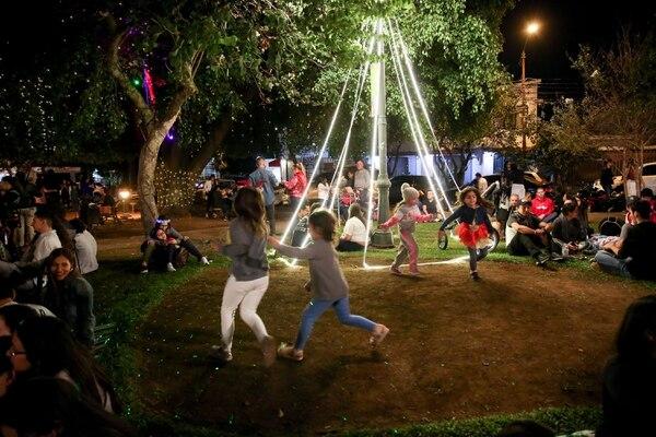 Como siempre los niños fueron los que más disfrutan en esta época. Foto Marcela Bertozzi/Agencia Ojo por Ojo
