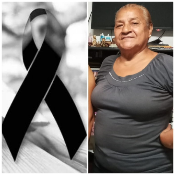 Doña Marta falleció luego de tomar guaro Fiesta Blanca. Foto cortesía.