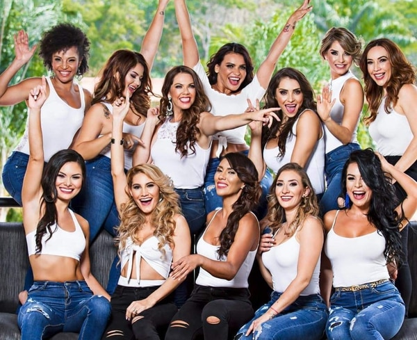 Mrs. Universe puede rajar que seleccionó a mujeres muy guapas. Facebook