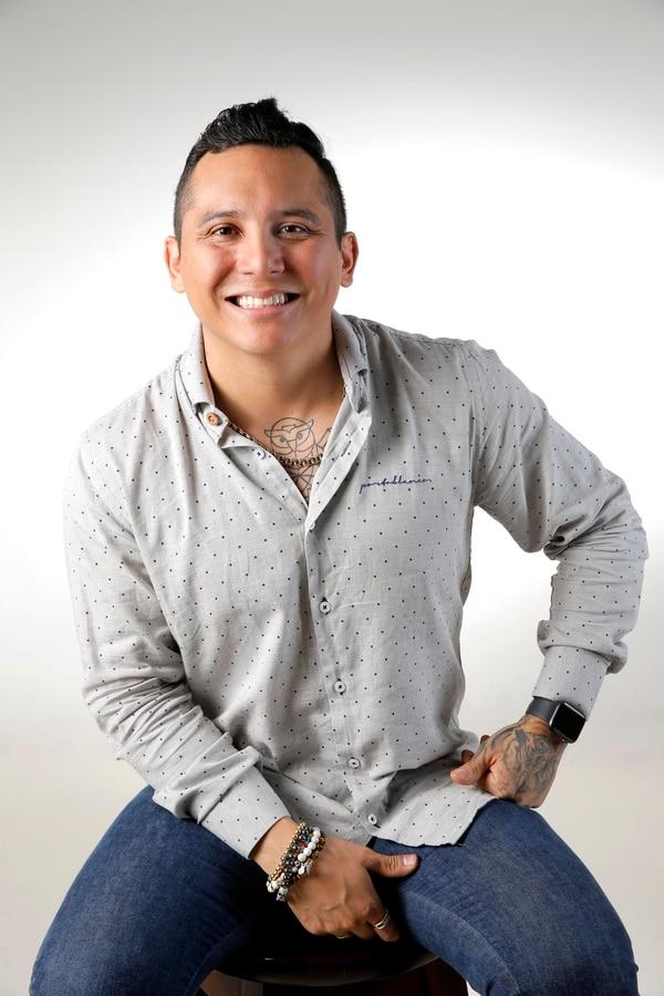 Edwin Luna dijo estar muy feliz de que su música suene tanto en el país. Foto: Mayela López