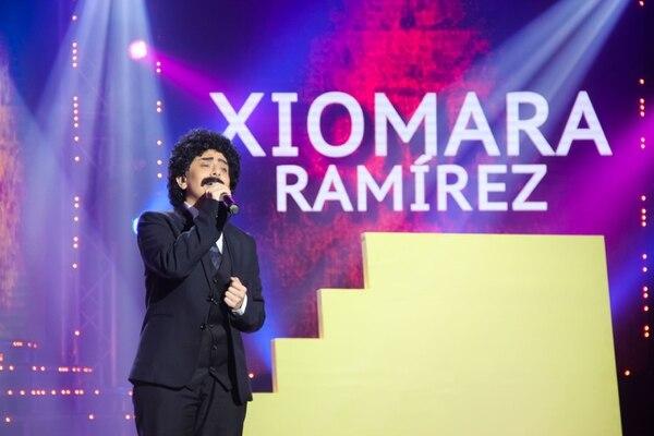Xiomara hizo un homenaje a su tío Gerardo Ramírez. Cortesía Teletica