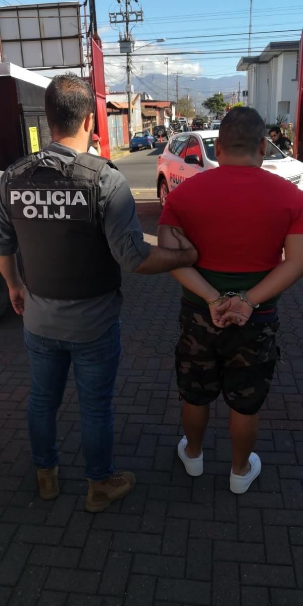 Hortua sería extraditado de regreso a Colombia, Foto OIJ.