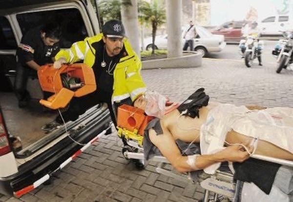 Alejandro Gomez Barrantes sufrió el accidente de tránsito en setiembre del 2010. Foto: Manuel Vega