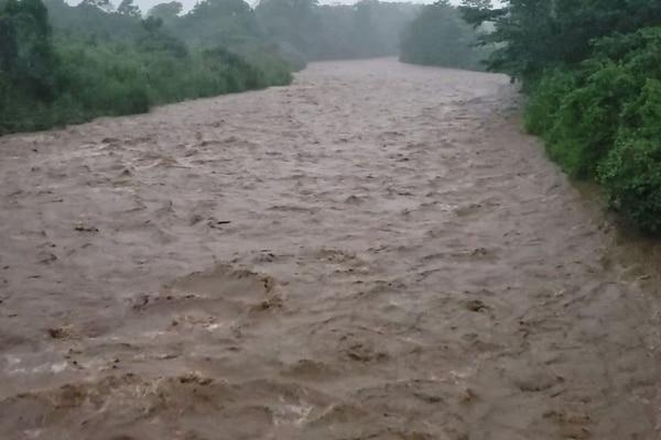 lluvias en San Carlos