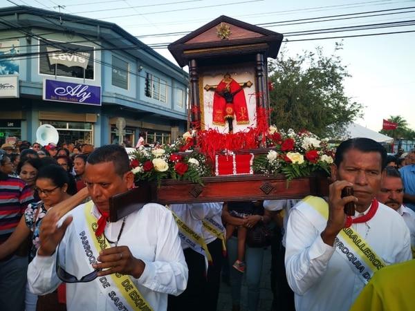 Santo Cristo de Esquipulas es el patrón de la comunidad y su fiesta es este 15 de enero. Foto: Deyvi Grijalba
