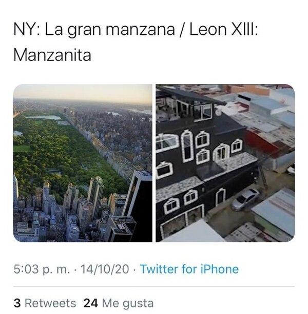 En las redes sociales la gente posteó varios memes de la casa.