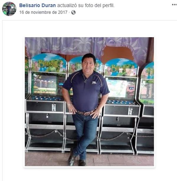 Belisario Durán Mora, de 62 años, era vecino de Guápiles, Limón y era uno de los que estaba más ilusionado con la reunión de la familia. Foto: Tomada de facebook