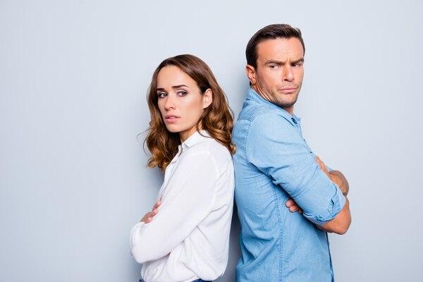 Foto ilustrativa sobre el divorcio, incompatibilidad de caracteres. Foto Shutterstock