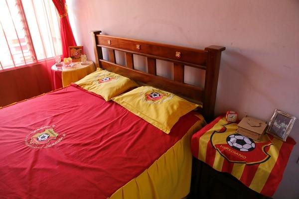 Un manudo o un morado posiblemente no tendría dulces sueños en esta cama. Albert Marín