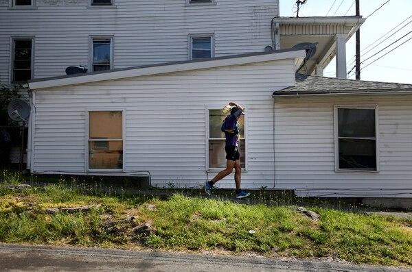 Corey asegura que fue la prueba más dura de su vida. (AP Photo/Jessie Wardarski)