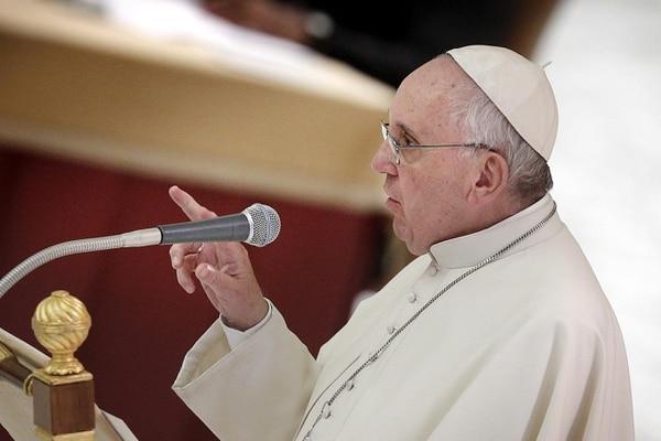 El papa Francisco ha dejado muy claro que no permitirá abusos sexuales en la iglesia católica. Archivo.