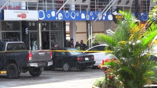 El asesinato ocurrió en el centro comercial Plaza Madrid. Foto: Keyna Calderón