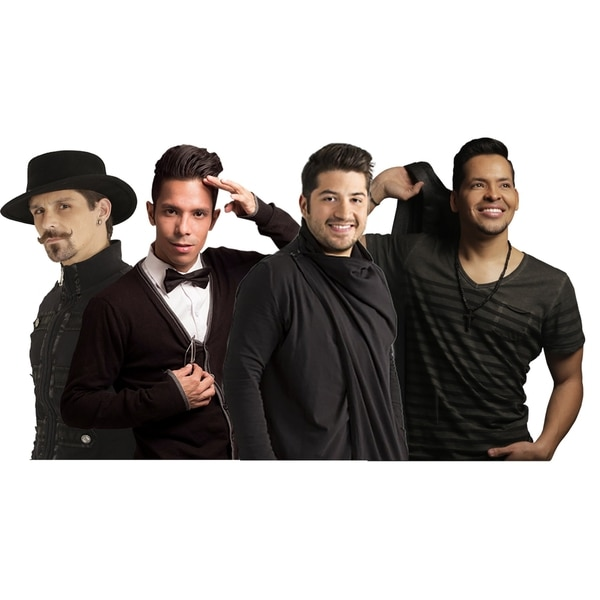 Los cuatro exintegrantes de Salserín iban a tocar junto con la orquesta nacional de Erick Sánchez. Cortesía