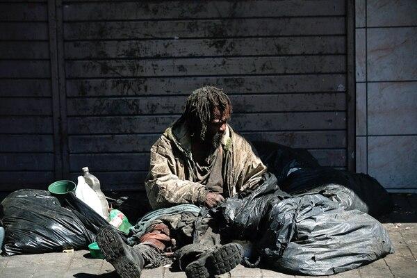 Los habitantes de la calle necesitan nuestra colaboración / Fotografía: John Durán