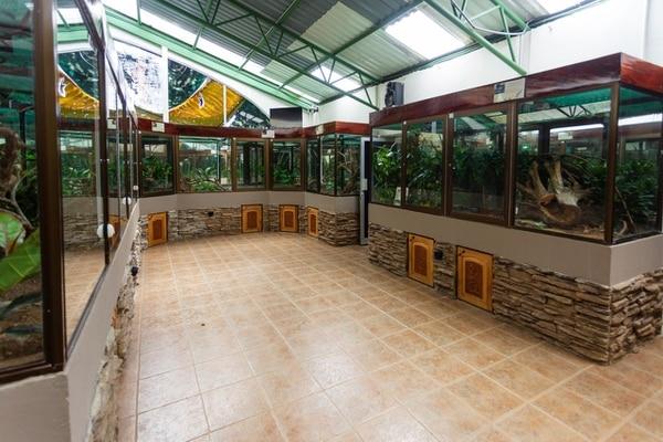 El serpentario Monteverde fue otro de los sitios de los que se llevaron los animales. Foto: Cortesía