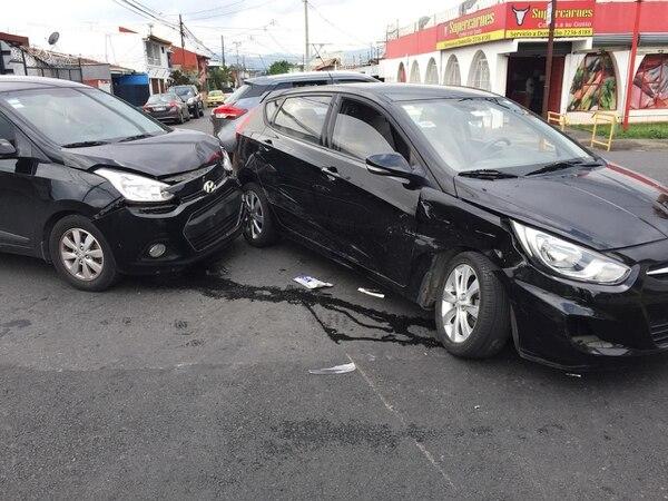 El accidente más reciente asustó a Eric porque iba con sus hijos y esposa. Foto cortesía.