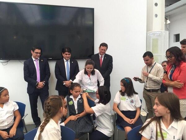 El 3 de junio anterior, Stefania Espinoza se vacunó contra el virus del papiloma en el Hospital de Niños. John Durán.