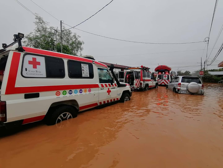 Inundaciones en la zona norte del país. Foto Edgar Chinchilla.