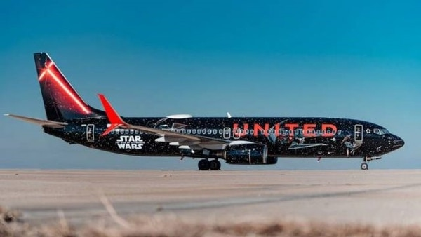 Así se decoró el Boeing 737-800 de United Airlines que vendrá a Costa Rica. Cortesía United.