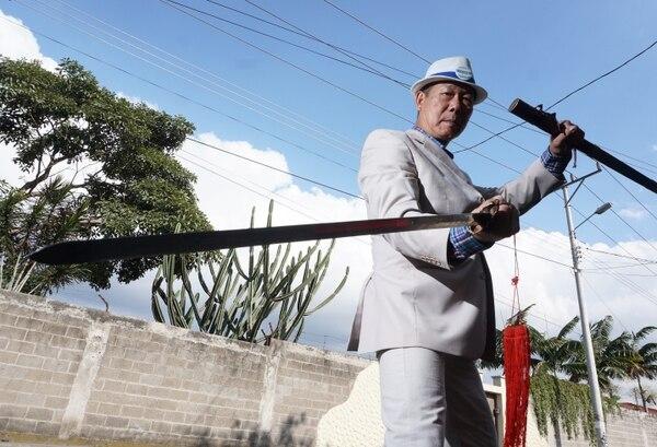 Alfonso Yu, candidato a alcalde del cantón de Alajuelita se llevó el Óscar a mejor actor de acción. Foto: Adrián Arias