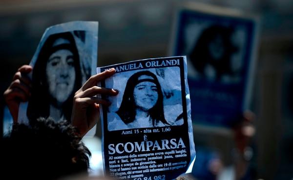 La desaparición de Emanuela es un misterio sin resolver en Italia. AFP