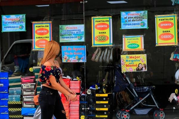 Las tiendas aseguraron que no les fue nada bien con las ventas en el Día de la Madre. Foto: Rafael Pacheco