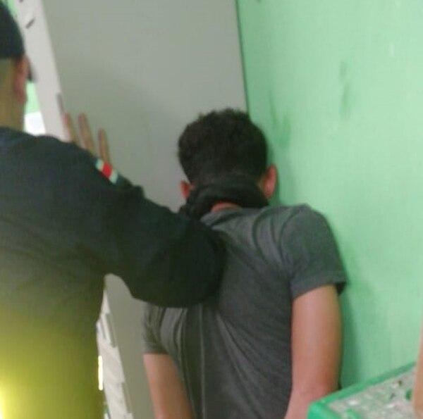 El sospechoso amarró a las mujeres y las tiró al piso. Foto: MSP