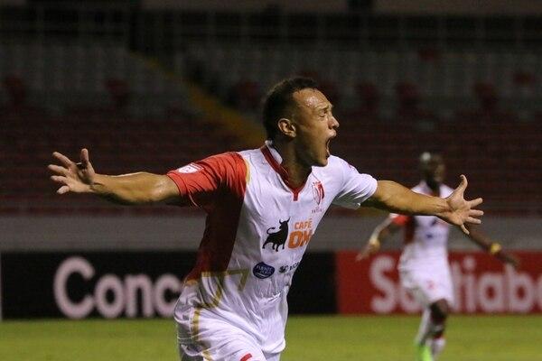 Jorge Betancour marcó el gol ante el Team con el que los pinoleros hicieron historia. Foto: Concacaf