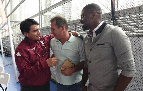 Vladimir Quesada y Harold Wallace se benefician de la segunda división en su actual puesto como entrenadores en la Fedefútbol. Foto: Archivo, CARLOS GONZALEZ/AGENCIAOJOPOROJO