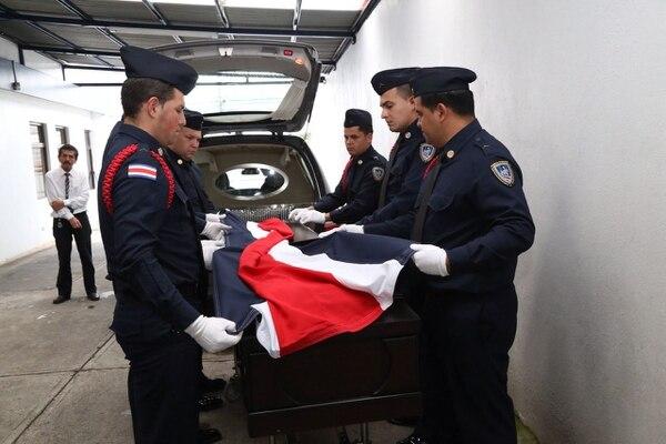 oficial muerto porque conductor lo atropello San Ramón
