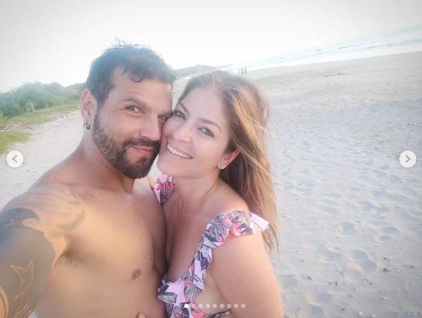 La pareja anunció su ruptura el martes. Instagram.