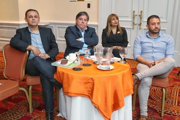 Alajuelense fue representando por su presidente Fernando Ocampo. Fotografía : John Durán
