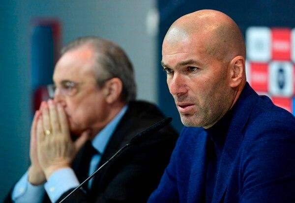 Según la prensa española este matrimonio entre Zidane y Florentino podría tener divorcio a menos de 11 días de