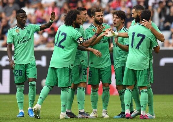 Equipos como el Real Madrid tiene calendarios saturados. AFP
