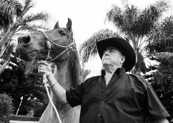 El doctor Edgar Barrantes era un apasionado de los caballos. Instagram
