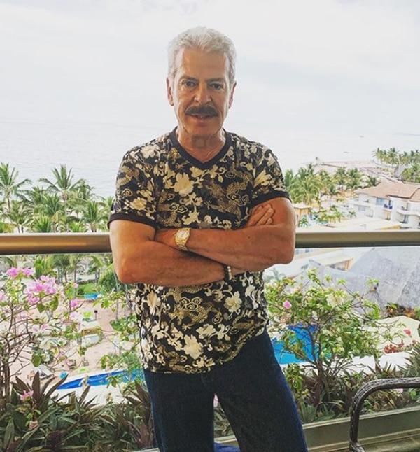 Sergio Goyri ha sido villano en muchas novelas. Instagram.