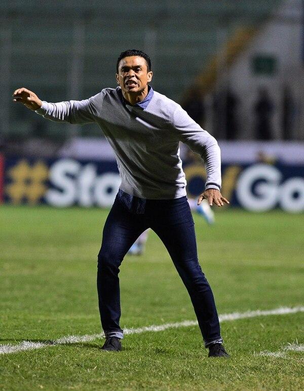 Centeno vivió con mucha intensidad cada minuto de la final ante Motagua. AFP