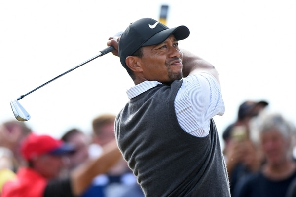 Tiger Woods es considerado el mejor golfista de la historia. (Photo by Andy BUCHANAN / AFP)