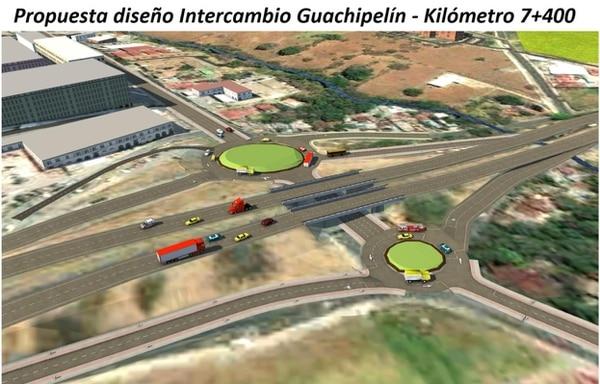 En Guachipelín de Escazú también se verá una nueva cara. Foto: Cortesía Casa Presidencial.