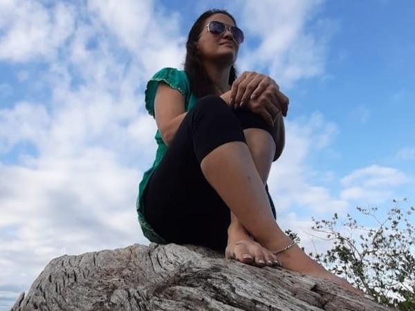 Olga Juárez trabaja como miscelánea en el Ebais de Puerto Jiménez de Golfito. Foto: Cortesía de Olga Juárez.