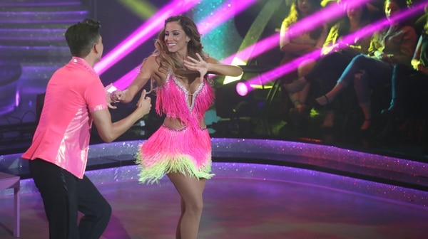 Natalia Carvajal y Erick Vásquez van a tener que ponerle más porque quedaron de últimos en esta gala. Graciela Solis