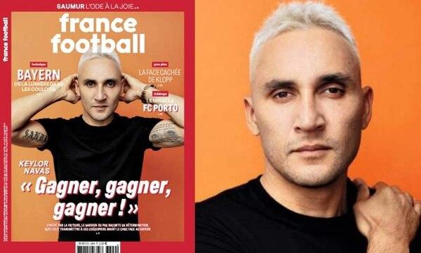 Keylor Navas en portada de France Football. France Football.