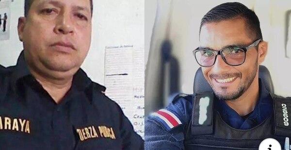 Begler Reiner Araya y Juan Carlos Bonilla permanecen internados en el hospital Escalante Pradilla de Pérez Zeledón. Foto: Cortesía para LT