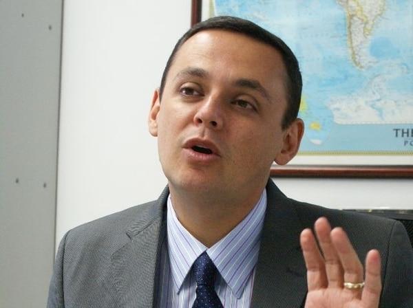 Fernando Ocampo, presidente de León, comentó que José Andrés Salvatierra contará con todo el respaldo de la dirigencia manuda. Foto La Nación
