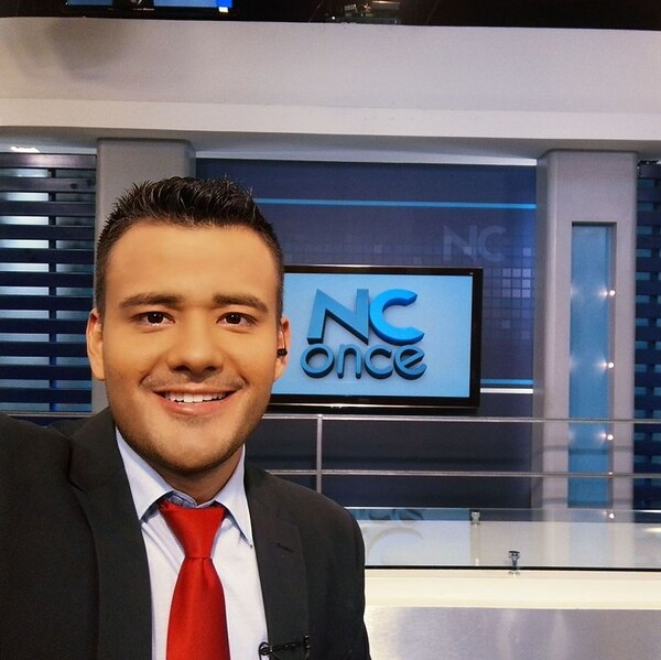Alonso era la cara del noticiero de canal 11. Cortesía.