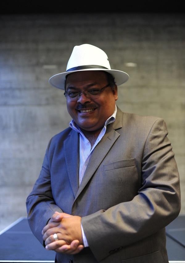 Daniel Muñoz es un experto en temas de platillos voladores. Foto: Daniel Muñoz