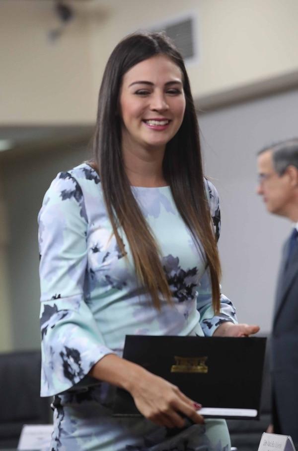 Corrales es la diputada más joven del Congreso. Foto: John Durán.
