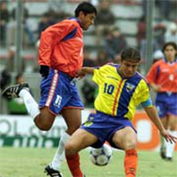 Carlos Hernández jugó el Mundial Juvenil de Argentina 2001. Archivo.