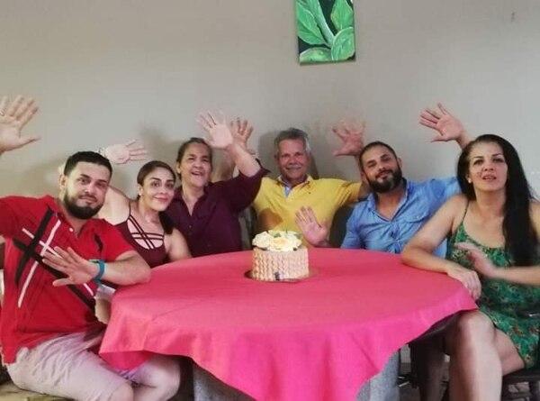 Rubí siempre dio todo por su familia, esa fue su motivación. Foto: Cortesía de Andrea Rubí.