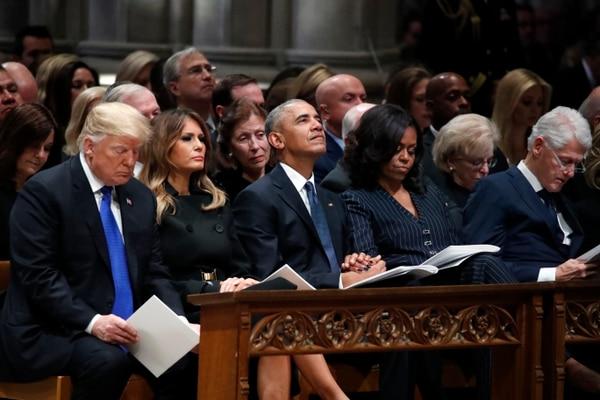 Donald Trump y Bill Clinton son los nombres más reconocidos que podrían estar embarrados. Foto: AP